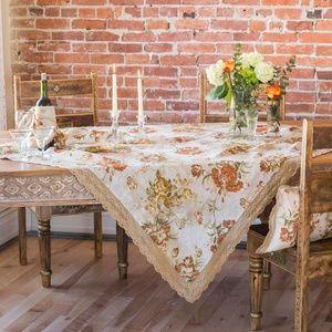 April Cornell Tablecloth Conservatory Linen 54x54